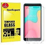 CaseExpert 2 Pack - Wiko Y60 Verre Trempé, Vitre Protection Film de Protecteur...