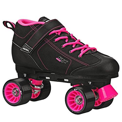 Pacer GTX 500 Roller Skate Black/Pink Size Mens 5 / Ladies 6