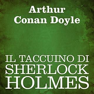 Il taccuino di Sherlock Holmes copertina