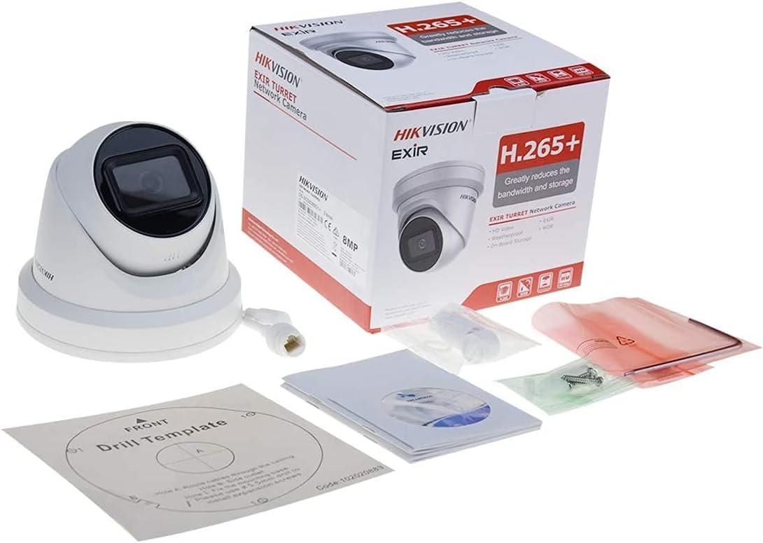 Hikvision Original DS-2CD2385G1-I 2.8mm Lens 8MP(4K) IR Fixed Turret Network Camera PoE H.265+ SD Card Slot IR 30 m IP67 English Version