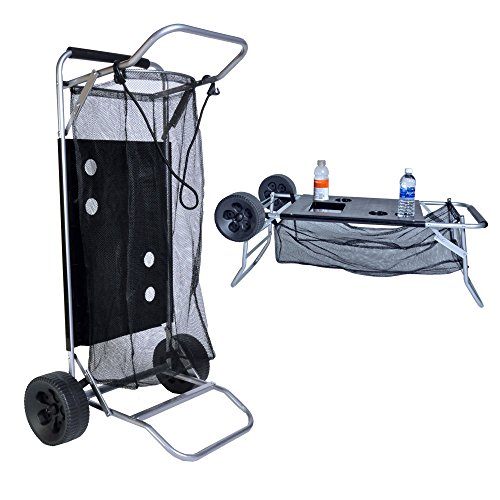 BeachMall Cart with Folding Table