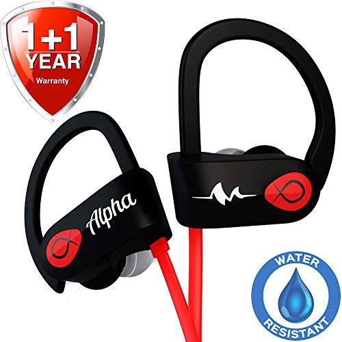 Wireless Headphones - Premium 2020 - Best Wireless Earbuds - Workout Headphones - Sport Headphones - Running Headphones - Waterproof Headphones - IPX7 - w/Mic Noise Cancelling - for Women Men