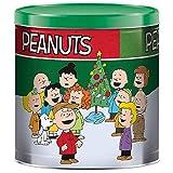 GiftPop Peanuts Assorted Flavors Popcorn, Charlie Brown Peanuts, 21 Oz Tin