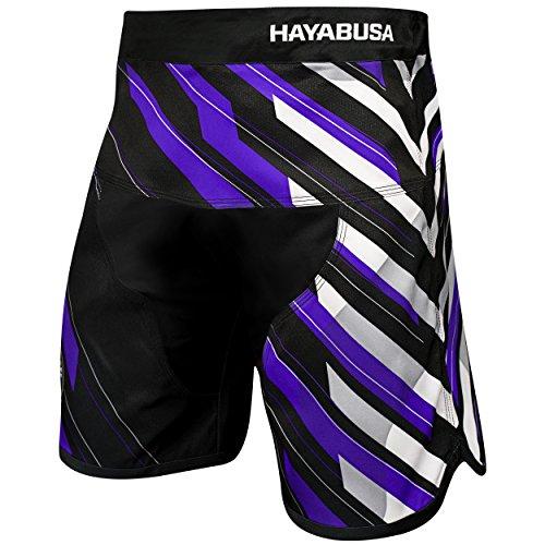 Hayabusa MMA Kampfshorts Metaru Charged Loose Fit - Violett - 46