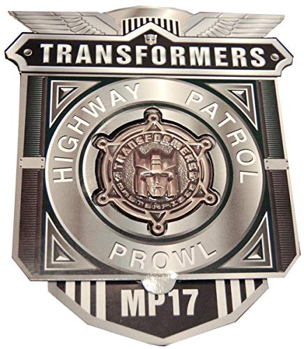 Transformers Highway Patrol Prowl MP-17 Coin Badge by Transformers