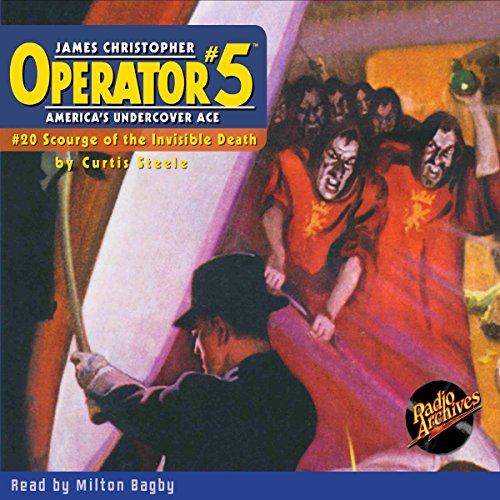 Operator #5 #20, November 1935 audiobook cover art