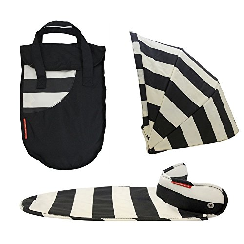 VITAL INNOVATION Couverture Pack Couleur Vogue pour Nacelle Oyster Noir et Blanc