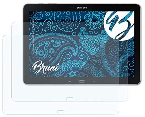 Bruni Schutzfolie kompatibel mit Samsung Galaxy Note Pro 12.2 LTE und Wi-Fi Folie, glasklare Bildschirmschutzfolie (2X)