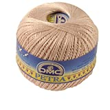 DMC Petra de Hilo, 100% algodón, Beige, tamaño 5