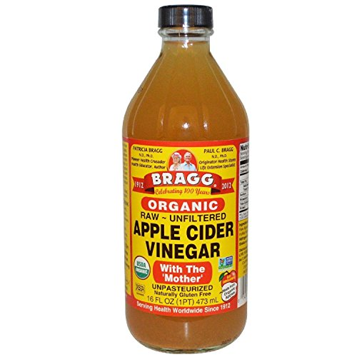Bragg Vinagre orgánico de manzanas, 473 ml x 2