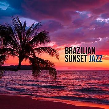 Brazilian Sunset Jazz - Summer Cocktail Party, Sunset Beach Vibes, Chill Jazz, Sunny Jazz for Sunny Days