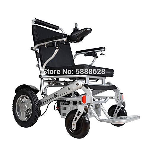 JINKEBIN Silla de ruedas eléctrica. El scooter de litio de 500 W tiene una carga de 150 kg con un ancho de asiento de 51 cm y una silla de ruedas eléctrica de alto rendimiento (color: astilla)