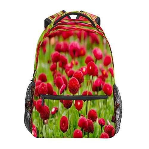 Business Laptop Backpack Travel Hiking Camping Daypack Flower Bloom College Bookbag Large Diaper Bag Doctor Bag School Backpack Water Resistant Anti-Theft for Women&Men