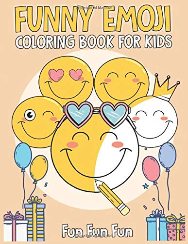 Amazon.com: The Emoji Coloring Book: 30 Large Coloring Pages of ... | 500x387