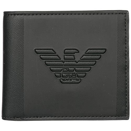 Emporio Armani billetera hombre black