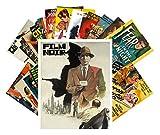 Postcard Pack 24pcs Film Noir Vintage Movie Poster Hardboiled Detective