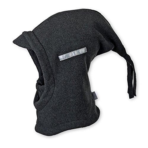 STERNTALER Schalmütze Zipfel Baby-Kopfbedeckung, Größe 49, grau