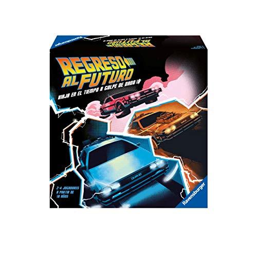 Ravensburger- Regreso al Futuro, Versión Española, Light Strategy Game, 2-4 Jugadores, Edad Recomendada 10+, Multicolor (26894)