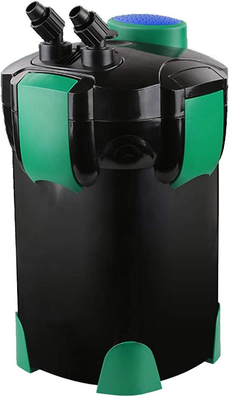 LIFUREN Filter bucket Fish tank filter Filtering equipment External Water purification pump Silent and efficient (Size   1400L H)