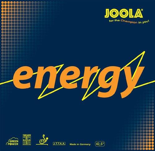 JOOLA–Pelotas de Tenis de Mesa de energía Verde de Goma, 70087, Negro, Maximum