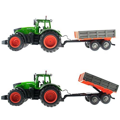 RC Auto kaufen Traktor Bild 3: efaso E351-003 1:16 2,4 GHz RC Trecker mit Anhänger und Licht- und Soundeffekten - Komplett RTR*