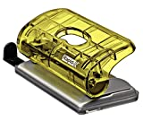 Rapid Mini Perforateur, Capacité 10 feuilles, Jaune, FC5, Colour'Ice, 5001329