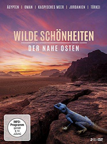 Wilde Schönheiten - Der Nahe Osten (2 DVDs) Ägypten l Oman l Kaspisches Meer l Jordanien l Türkei