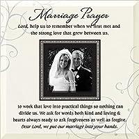 Dexsa Marriage Prayer Beveled Glass Photo Frame with Easel [並行輸入品]