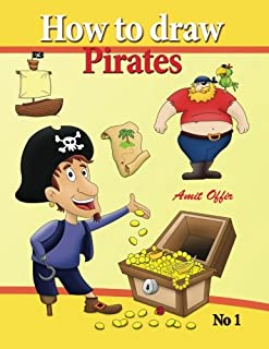 how to draw pirates - english edition: how to draw pirates. this drawing book contains 32 pages that will teach you how to...
