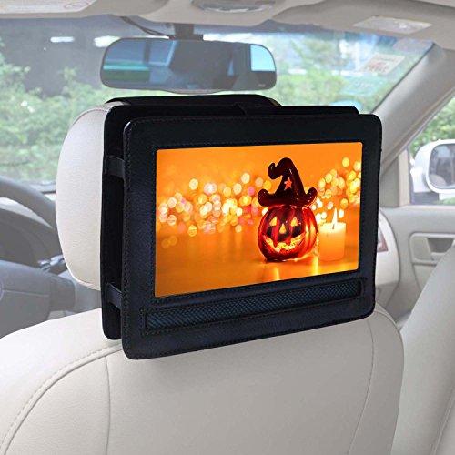 Auto KFZ Kopfstützen Halterung für APEMAN 10,5'' Tragbarer DVD-Player mit 5 Stunden Akku Drehbarem Display