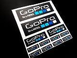 Ecoshirt GC-3T3U-XMVN Pegatinas Bike Moto Coche Eco23 Stickers Aufkleber Vinilos Adesivi Decals, Colores Go Pro Colors