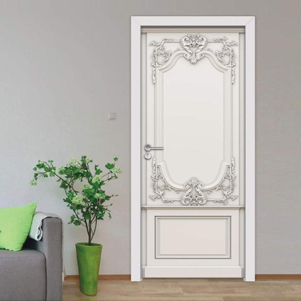 3D Door Murals Peel and Stick DIY Wall Sticker Ar Wallpaper Home New products world's highest Don't miss the campaign quality popular