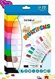 Beleduc Multipens, Filzstifte, Textilmalstifte, Textilmarker, Glasmalstifte, Porzellanstift, Stifte...
