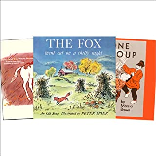 Stone Soup, Fox Went Out on a Chilly Night, Suho and the White Horse, & more                   By:                                                                                                                                 Peter Spier,                                                                                        Warwick Hutton,                                                                                        Marcia Brown,                   and others                          Narrated by:                                                                                                                                 Molly Scott,                                                                                        Neil Innes,                                                                                        Rodd Ross,                   and others                 Length: 31 mins     10 ratings     Overall 4.0