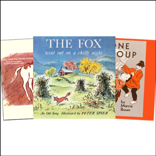 Stone Soup, Fox Went Out on a Chilly Night, Suho and the White Horse, & more audiobook cover art