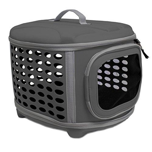 YATEK Trasportino per Cani e Gatti Pieghevole, Lavabile, consigliato per Animali Domestici Fino a 5 kg