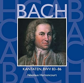 Bach, JS : Sacred Cantatas BWV Nos 83 - 86