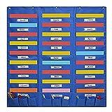LEZDPP Carpetas y dossieres Organigrama Centro de Bolsillo de la Pared del Archivo Organizador Oficina Carpeta Home Studio School Carpetas y dossieres