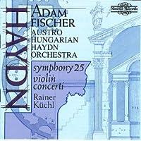Violin Concerti in C & G / Symphony 25 by Haydn