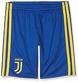 adidas Juve A SHO Y Pantalón Corto-Línea Juventus de Turín, niños, Azul (Reauni/dorfue), 176