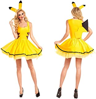 Pikachu Dress Party Large Cosplay Double Bed Women's Women's Catch Me Honey Costume