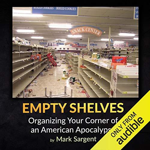 Empty Shelves audiobook cover art