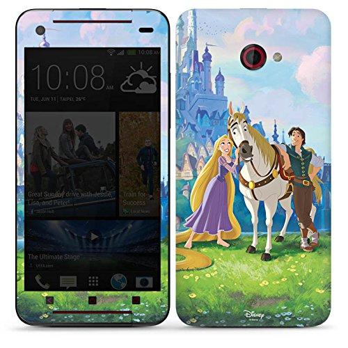 DeinDesign HTC Butterfly S Case Skin Sticker aus Vinyl-Folie Aufkleber Disney Rapunzel verföhnt Merchandise Geschenke