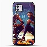 PEWORWEY Case/Handyhülle/Hülle/Coque/Custodia/Carcasa/Cover/Shell,Kobe Bryant DIY Phone Case for iPhone 5 5S, Kobe-Bryant,[K921-1021]