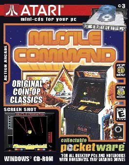 Atari Pocketware: Missile Command