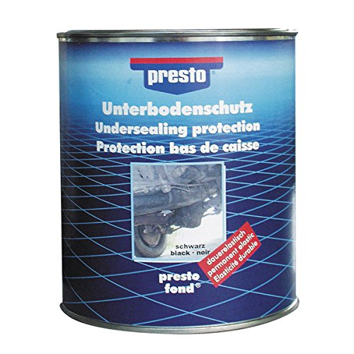 Presto 603260 Bitumen-Unterbodenschutz, 2.5 kg, Schwarz