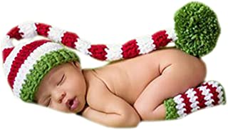 crochet newborn elf hat