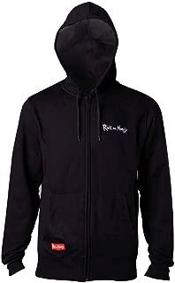 Rick and Morty Sweatshirt Squanch! - Men's hoodie Black