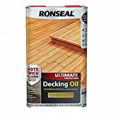 RONSEAL Ultimate Protection Decking Oil Natural 5L