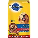 PEDIGREE Complete Nutrition Adult Dry Dog Food Grilled Steak & Vegetable Flavor Dog Kibble, 50 lb. Bag